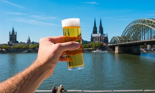 CityGames Köln JGA Männer Tour: Special Biergrüßung Kölsch