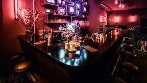 Bar Bereich der BOIze Bar